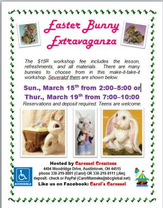 Easter Bunny Extravaganza poster
