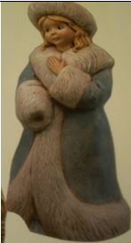 Gare 1021 winter romance statue