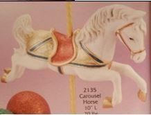 Gare 2135 carousel horse