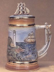 Hershey 0128 & 0128B Nautical Stein
