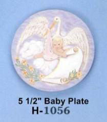 Holland 1056 baby plate
