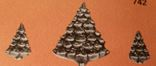 Holland 773 Christmas Tree pin & earring set