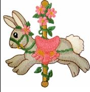 KIDS CAROUSEL RABBIT PIC