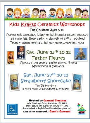Kids krafts poster for JUN