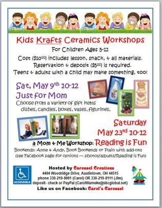Kids Krafts poster for MAY