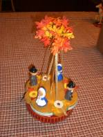 Kimple 1327 Thanksgiving Spinning Carousel