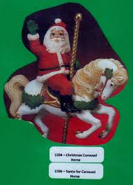 Kimple 1594 & 1595 Christmas Horse online