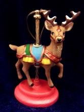Kimple 1606 carousel ornament reindeer prancing