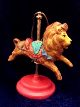 Kimple 1645 carousel ornament lion (2)