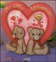 lighted teddy bear card s1372