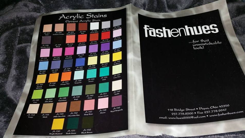 pic of Fashenhues color chart