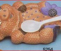 pig spoonrest 5254