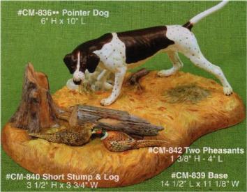 pointer dog CM0836