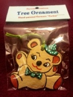 S-K 0434 corky gingerbread bear