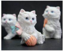 Santmire 1441 Three small kittens