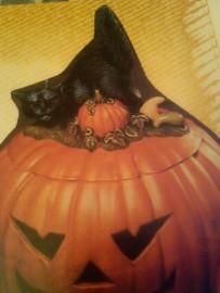 Scioto 0477 cat lid for pumpkin