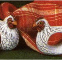 Scioto 0599 hen napkin holders