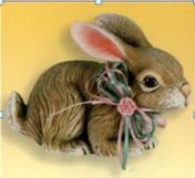 Scioto 1078 Realistic Bunny facing Right