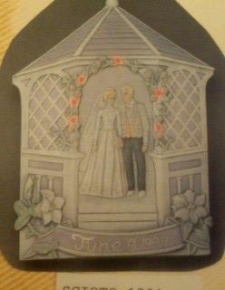 Scioto 1231 Lighted Wedding Card