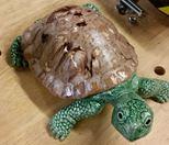 Scioto 1496 garden turtle glazed