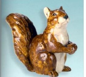 Scioto 2073 large sitting squirrel