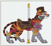 STEAMPUNK CAROUSEL TIGER