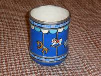 TCU 0271 Carousel Jar in Blue