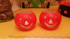 tealight pumpkin cups