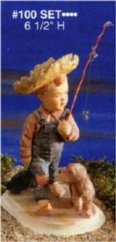 Alberta 100 fishing boy set