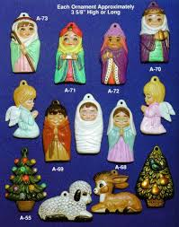 ALBERTAS NATIVITY ORNAMENTS