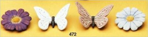 BUTTERFLY & FLOWER MAGNETS