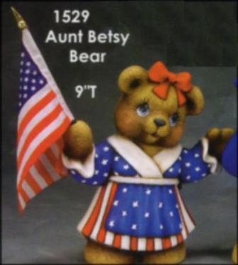 Clay Magic 1529 Aunt Betsy Bear