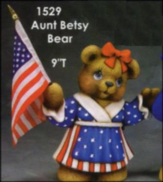Clay Magic 1529 Aunt Betsy Bear