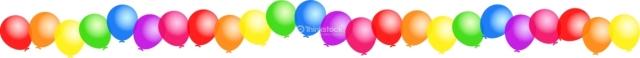 clipart balloon border