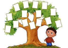 clipart family tree