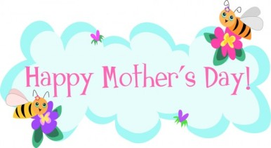 clipart MothersDayBees-550x302