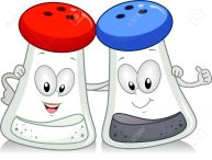 clipart salt & pepper
