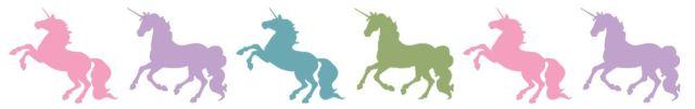 clipart unicorn border