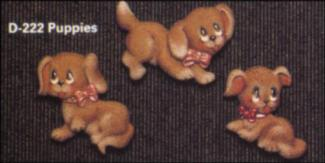 Dona 0222 Puppy magnets