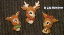 Dona 0232 reindeer magnets