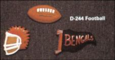 Dona 0251 football magnets