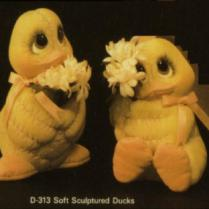 Dona 0313 soft sculpture ducks
