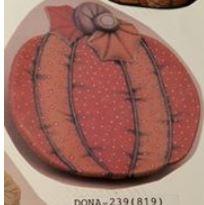 dona 239 stuffed pumpkin plate