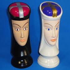 duncan 0167 & 0168 chess queens
