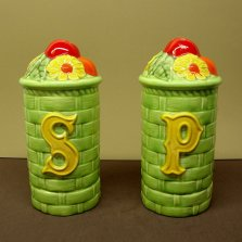 Duncan 0215 Four Seasons large basket salt & pepper