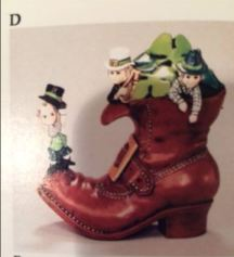 Duncan 0236D Leprechaun Boot Bank 2