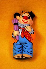 Duncan 0295 clown bank orange
