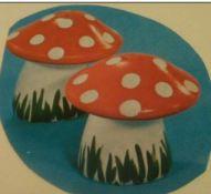 Duncan 0462 mushroom salt & pepper
