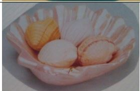 DUNCAN 0468a SHELL SOAP DISH