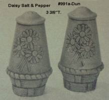 DUNCAN 0991A daisy salt & pepper